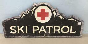 Ski Patrol Modern Sign