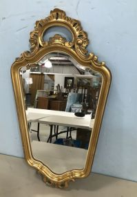 Unique Gold Gilt French Style Mirror