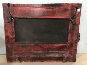 Painted Wall Decor Display and Rack