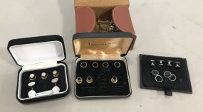 Collection of Vintage Cuff Links