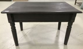 Antique Dark Finish Coffee/Side Table