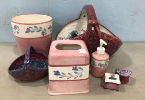 Group of Gail Pittman Pottery