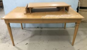 Ethan Allen Blonde Wood Dinning Table