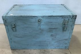 Painted Storage Trunk