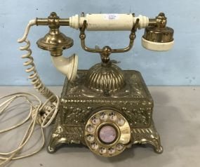 Reproduction Ornate Land Line Telephone