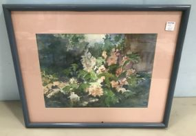 Floral Watercolor by Anita Whitley