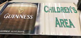 Guinness Children's Area Poster
