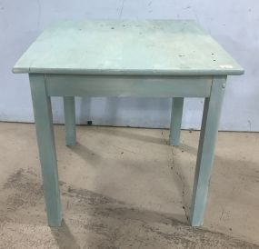Small Painted Kitchen Square Table