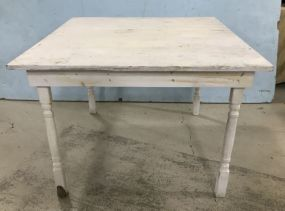 Hand Made Farm Style Painted Table
