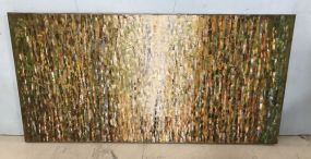Large Abstract Rectangle Wall Decor
