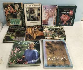 Nine Home Decor Books