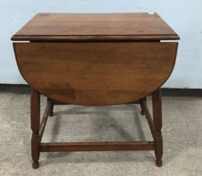 Small Drop Leaf Accent Table