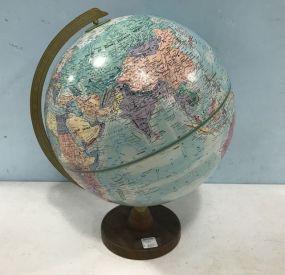 Round Earth Globe