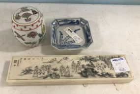 Assorted Oriental Collectible Pieces