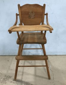 Vintage Child's High Chair