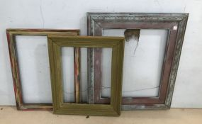 Three Wood Frames