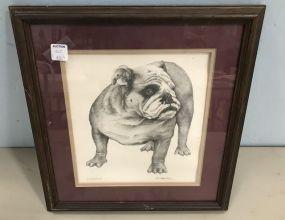 Framed Print of Bully