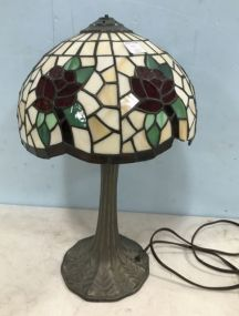 Plastic Slag Table Lamp