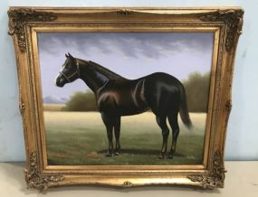 Richard Hines Painting of Horse