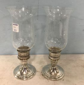 Newport Sterling Weighted Candle Holders