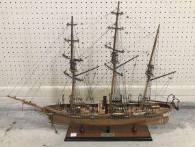 CSS Alabama Ship Model