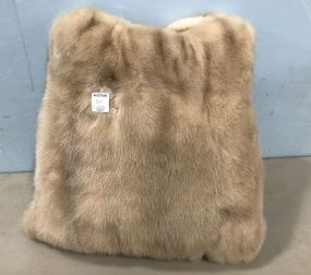 Mink Throw Pillow