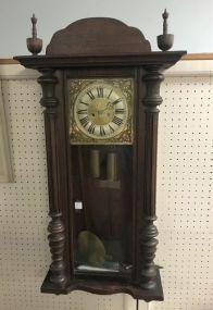 Victorian Style Pendulum Wall Clock
