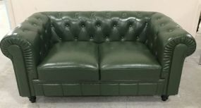 Chesterfield Tufted Love Seat
