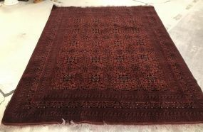 Bokhara Style Persian Area Rug