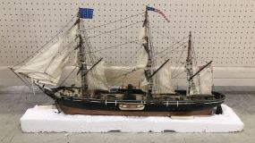 Collectible Wood Ship Model
