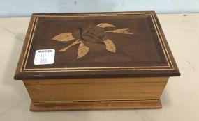 Vintage Inlaid Trinket/Jewelry Box