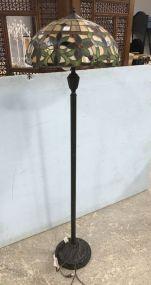 Replica Slag Glass Floor Lamp