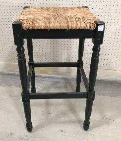 Hawthrone Woven Seat Bar Stool