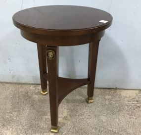 Small French Style Accent Round Table