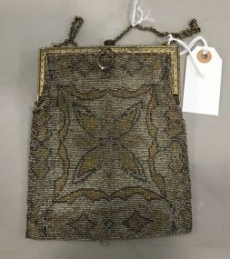 French Style Beaded Purse
