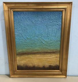 Giclee Decor Painting Gold Gilt Framed