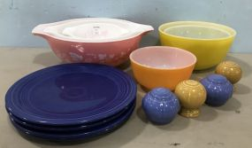 Pyrex and Fire King Cook Ware Bowls
