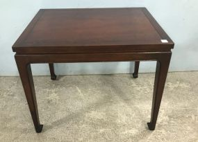 Fine Arts Furniture Chippendale Style Side Table