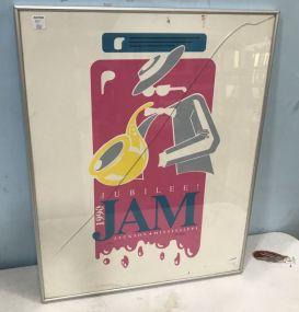 1990 Jubilee Jam Signed Poster