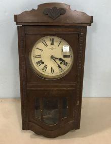 Vintage Trade S Mark Wall Clock