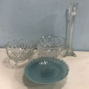 Pressed Glass and Art Glass Pieces