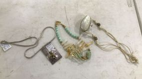 Sidney Carron Necklace and Two Costume Necklaces