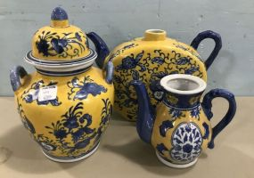 Three Hands Company Oriental Style Pottery