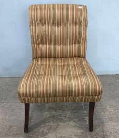 Modern Striped Side Chair
