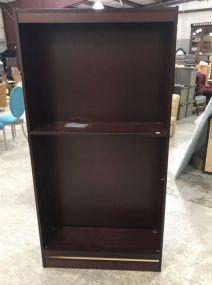 Modern Cherry Bookcase
