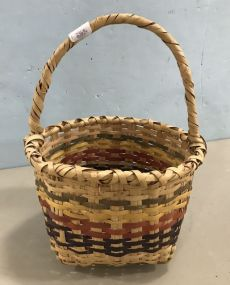 Native American Style Woven Basket