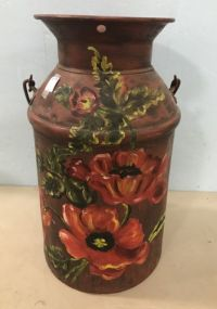 Vintage Hand Painted Milk Jug