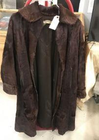 David Green Vintage Fur Jacket