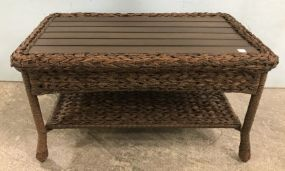 Modern Two Tier Coffee Table