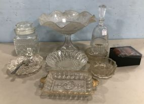 Collection of Pressed Glassware